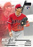 #9: 2018 Stadium Club Never Compromise #NC-SO Shohei Ohtani Angels Baseball