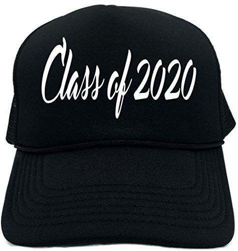 Signature Depot Funny Trucker Hat (Class of 2020 (graduation) cursive) Unisex Adult Foam Cap