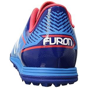 New Balance Men's Furon 3.0 Dispatch TF v3 Soccer Shoe, Bolt/Team Royal, 12 2E US