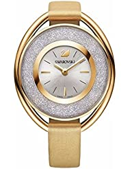 Swarovski Crystalline Oval Gold-Tone Ladies Watch 5158972