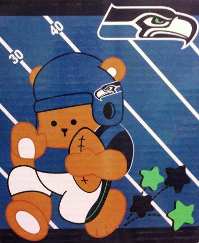 Seattle Seahawks NFL Baby Plush Blanket -