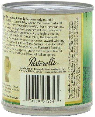 Pastorelli Pizza Sauce Italian Chef, Original, 8-Ounce (Pack of 12)