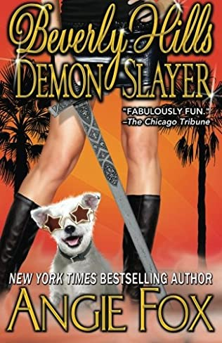 book cover of Beverly Hills Demon Slayer