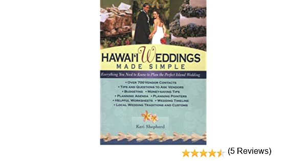 Hawaii Weddings Made Simple: Keri Shepherd: 9781566475983: Amazon ...