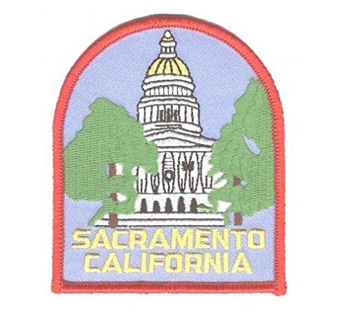 Sacramento Patch   California Capitol Building  Iron On