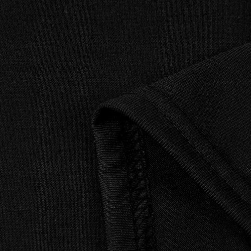 Dentelle Tops Gilet D'été Couleur Cou Slash Élégant Chemise Lche Pure Neck Taille T V shirt Noir Décontractée Femmes Adeshop Grande Vêtements Blouse Mode Chic Slim aHP0II
