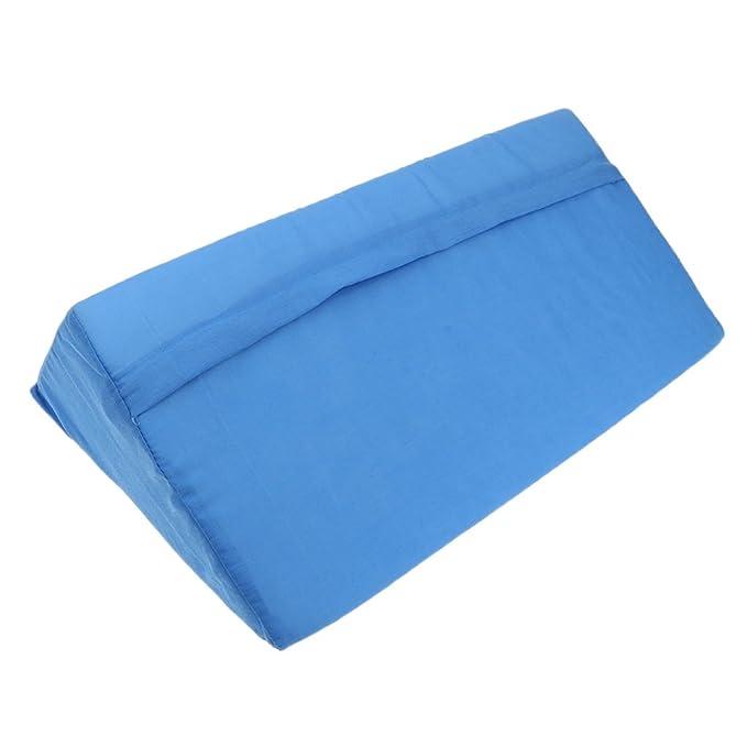 B Blesiya 1 pc Almohadilla Almohada de Cuña para Reflujo ácido Cómodo Dormir Relajarse