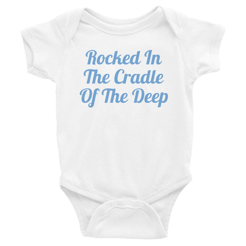gCaptain Rocked in The Cradle of The Deep Onsie