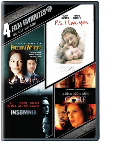 4 Film Favorites: Hilary Swank: Freedom Writers /P.S. I Love You / Insomnia / The Core (DVD) by Paramount Catalog by