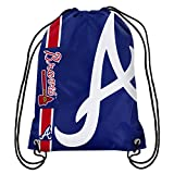 MLB Atlanta Braves Unisex 2015 Drawstring Back Pack, Team Color, One Size