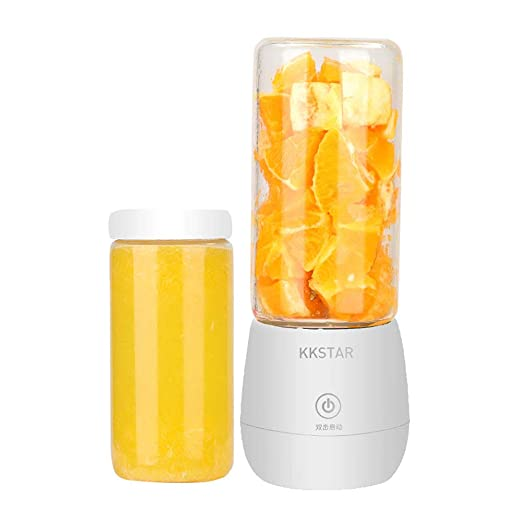 LNTE Exprimidor de Frutas, licuadora Personal Multifuncional, Mini ...