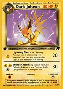 jolteon pokemon card amazon