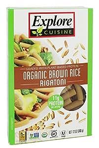 Explore Cuisine Pasta Brown Rice Rigatoni, 12 oz