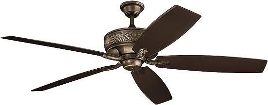 Kichler 310206WCP Monarch 70″ Outdoor Ceiling Fan