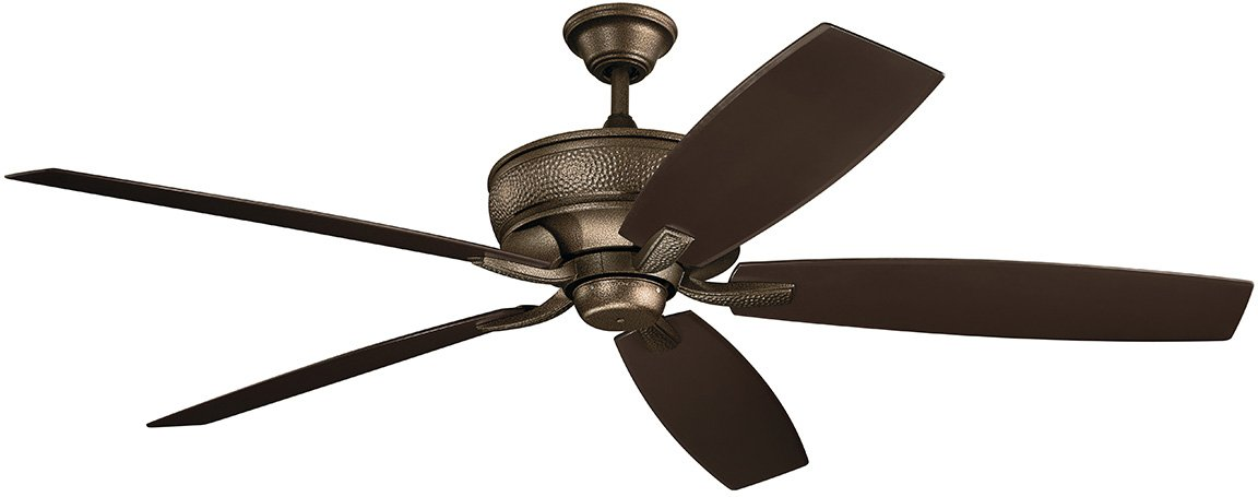 Kichler Lighting 300206TZ 70 Ceiling Fan from The Monarch Collection, Tannery Bronze
