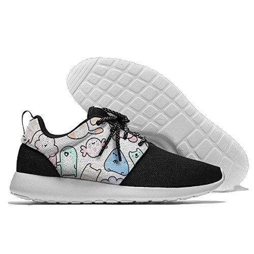 Chat Nuages loisirs Chaussures De Sport Chaussures De Course Chaussures De Sport Noir