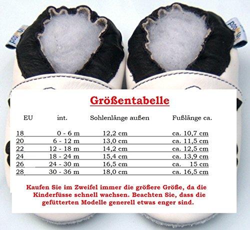 Lederhausschuhe 18 (0-6 Month), Krabbelschuhe, Lederpuschen, Hausschuhe, Kinder, Trainer beige