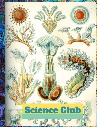 Science Club (5): Science Composition, Science Notebook, Science Log Book, Science Journal & Diary; Wide Ruled Book(Lined): 7.44x9.69