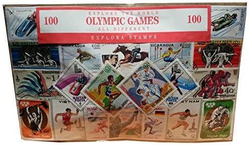 Explora Colección Histórica de Sellos de los Juegos Olímpicos ...