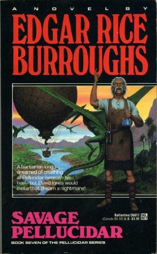 book cover of Savage Pellucidar
