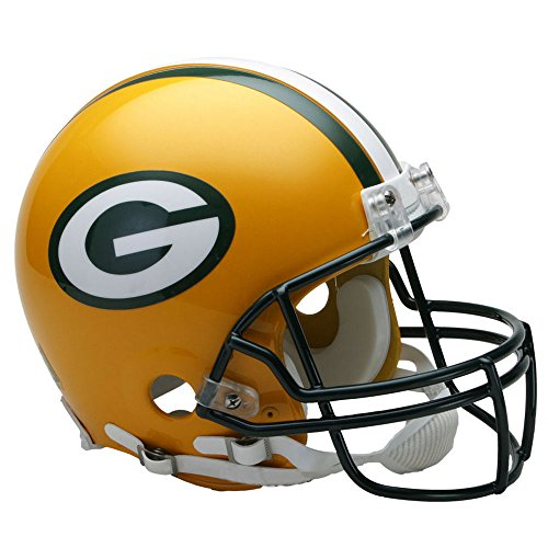 Green Bay Packers Officially Licensed NFL Proline VSR4 Authentic Football Helmet by Riddell