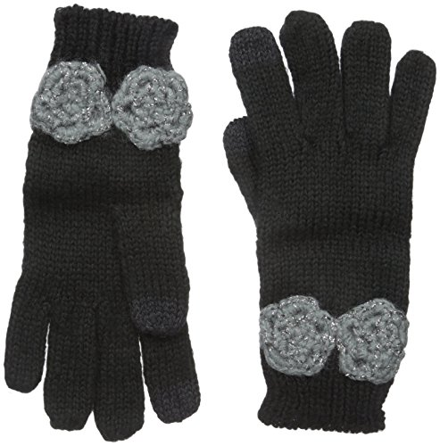 Betsey Johnson Women's Winter Bloom I Touch Glove with Lace Detail