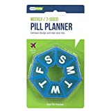 Ezy Dose 7-Sided Pill Planner (seven day weekly planner)