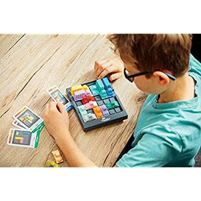 ThinkFun Rush Hour Traffic Jam Brain Game and STEM Toy for Boys and Girls Age 8 and Up – Tons of Fun With Over 20 Awards Won, International Bestseller for Over 20 Years: Toys & Games