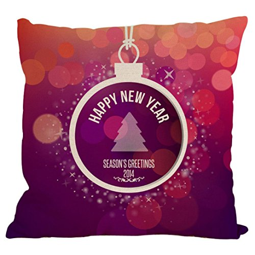 Vovotrade New Christmas Cotton Linen Pillow Case Sofa Cushion Cover Home Decor 17.7