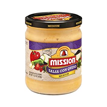 Mission Salsa Con Queso Medium