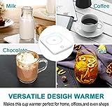 Misby Mug Warmer for Desk Coffee Warmer with