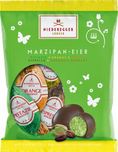 Niederegger Fruity and Nutty Easter Eggs in a bag - 85g/3.02 Oz