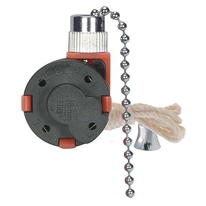 Amazon satco 3 speed ceiling fan switch nickel 801983 1 satco 3 speed ceiling fan switch nickel 801983 1 mozeypictures Gallery