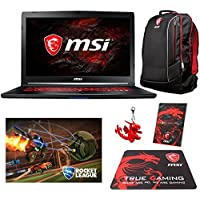 MSI GL72M 7RDX-699 Select Edition (i7-7700HQ, 32GB RAM, 240GB NVMe SSD + 1TB HDD, NVIDIA GTX 1050 2GB, 17.3 Full HD, Windows 10) Gaming Notebook