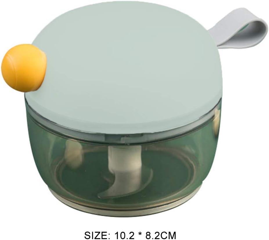 L-DiscountStore Mini manuale alimentare Chopper processore verdura tritacarne frullatore frutta verdure noci erbe cipolle aglio mandolini Affettatrici salsa insalata pesto di insalata di cavolo puro