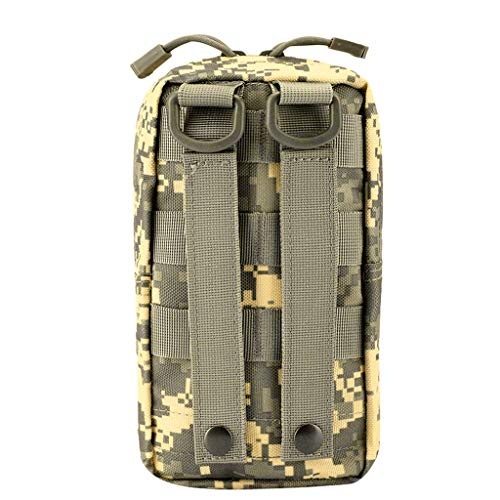 Pouch Molle Pocket Belt Phone Waist Camp ACU Military Bags 2x Hiking a1Bqxf