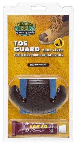 (Moneysworth & Best Toe Guard Boot Saver, Brown, Large)