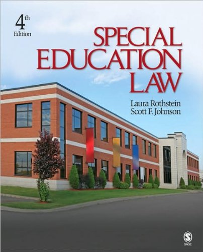 Special Education Law (text only) 4th (Fourth) edition by Prof. L. Rothstein,S. F. Johnson