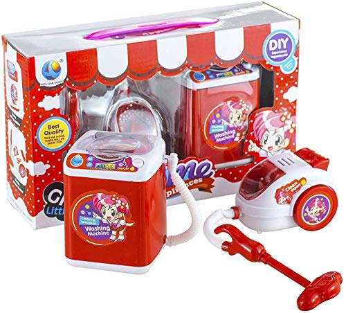 Generic Battery Operated Pink Household Home Appliances Kitchen Play Sets Toys for Girls (Assorted Pack