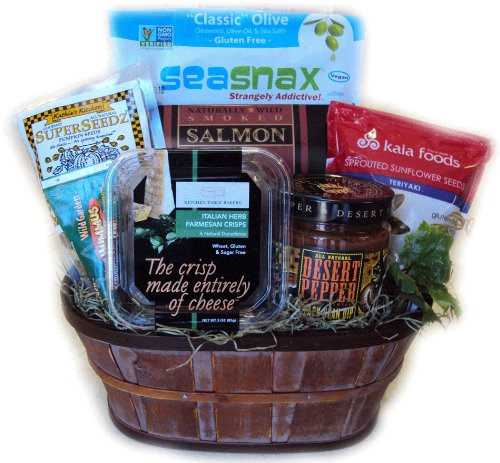 Low Carb Healthy Gift Basket by Well Baskets