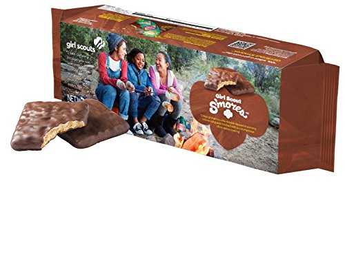 Price comparison product image Girl Scout S'Mores Cookie 1 Box