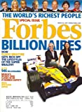 * BILLIONAIRES/THE WORLD'S RICHEST PEOPLE SPECIAL ISSUE * Flavio Briatore - March 26, 2007 Forbes Magazine [VOLUME 179, NUMBER 6]