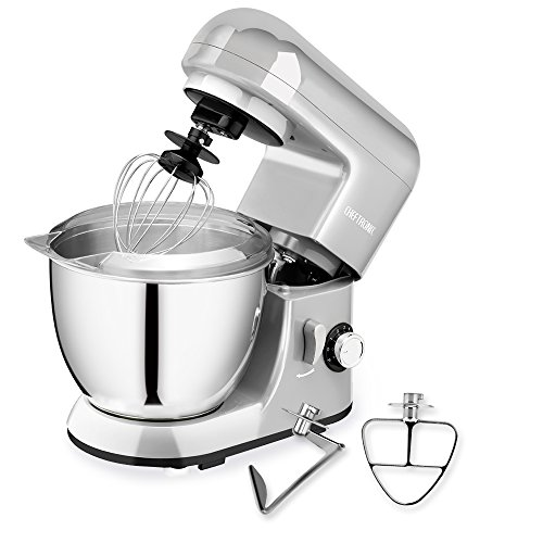 CHEFTRONIC SM985-Silver Standing Mixer, One Size, Silver ()