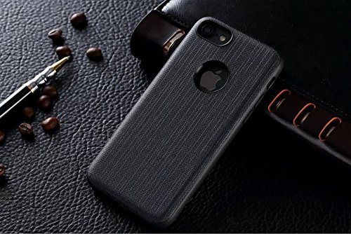 Price comparison product image VRLEGEND iPhone 7 Plus Case/iPhone 7 case Carbon Fiber Phone Protetive case,Slim Droproof,Anti-Scratch (iPhone7 plus Black)