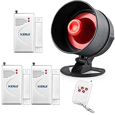 KERUI Wireless Live Loud Siren Kits