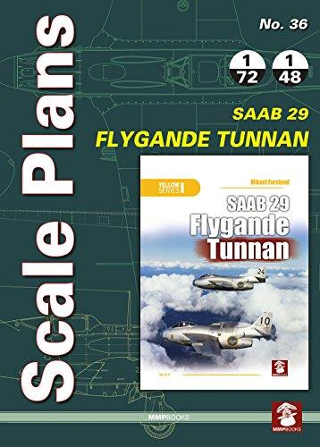 Scale Plans No. 36. SAAB 29 Flygande ()
