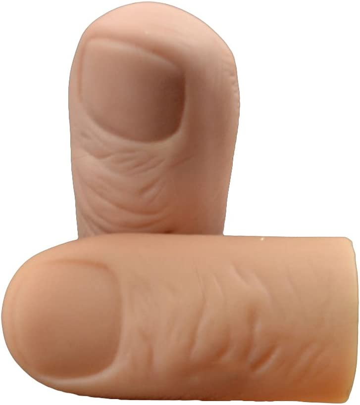 PACK Of 2 Magic Light Up Thumb Trick THE PERFECT STOCKING FILLER SECRET SANTA !!