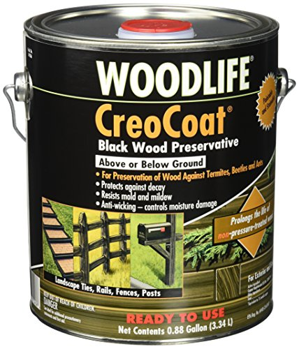 Control Pigment Solution (RUST-OLEUM  14436    Creocoat Black Wood-Gallon)