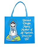 AT001 Recycled Nylon, Our Lady of Grace Tote Bag, 4 1/2 x 13'' H, 12pk.