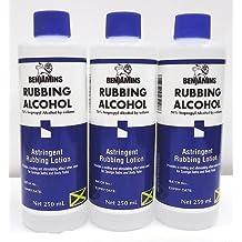 BENJAMINS RUBBING ALCOHOL 70% ISOPROPYL/ASTRINGENT/RUBBING ALCOHOL 3 X 250ml by Benjamin